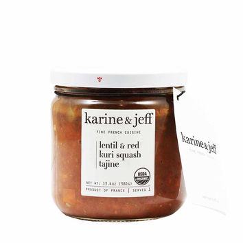 Organic French Lentil and Red Kuri Squash Tagine by Karine & Jeff 13.4 oz