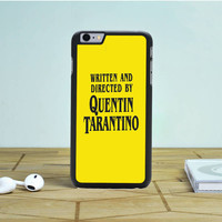 Written And Directed By Quentin Tarantino iPhone 6S Plus Case Dewantary