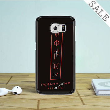 Twenty One Pilots Tattoo Symbol Samsung Galaxy S6 Edge Case