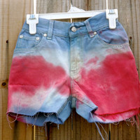 Kids Red, White, and Blue Shorts