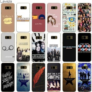 Lavaza Gilmore Girls Law & Order Special Victims Unit Hamilton Case for Samsung Galaxy S5 S6 S7 Edge S9 S8 Plus