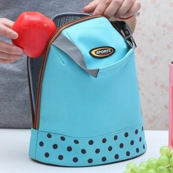 Yesello Waterproof Picnic Lunch Bag Thermal Bag Cooler Bags Food Organizer insulated Portable Pouch