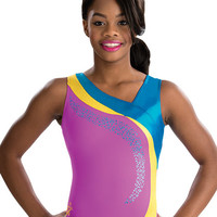 Gabrielle Gypsy Wave Gymnastics Leotard from GK Elite