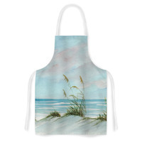 "Rosie Brown ""Sea Oats"" Artistic Apron"