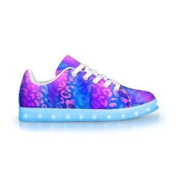 Electric Leopard - APP Controlled Low Top LED Shoes