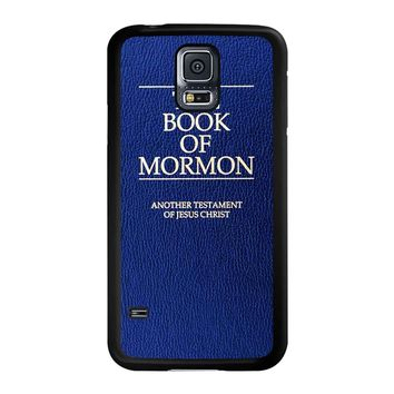 The Book Of Mormon Cover Book Samsung Galaxy S5 Case