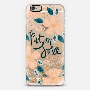 Put on Love iPhone 6 case by French Press Mornings | Casetify