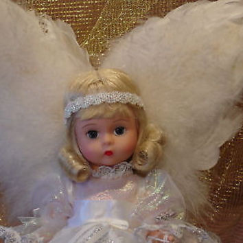 "MADAME ALEXANDER  9/11 BLONDE  IN MEMORY ANGEL  8"" DOLL MINT IN BOX WITH COA"