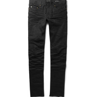 Saint Laurent - Slim-Fit 15.5cm Raw-Hem Denim Jeans | MR PORTER