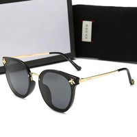 Gucci Newest Fashionable Women Men Cute Bee Shades Eyeglasses Glasses Sunglasses