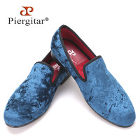 new Five color men new velvet flats shoes Banquet and Prom men dress shoes Fashion smoking slippers male loafers