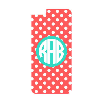 Coral Dot iPhone 6/6s Plus Case (Apple)