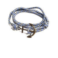 Nautical Anchor Paracord Bracelet
