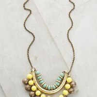 Ana Luiza Necklace by Heather Kahn Yellow One Size Necklaces