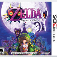 Zelda: Majora's Mask 3D - Nintendo 3DS (Very Good)