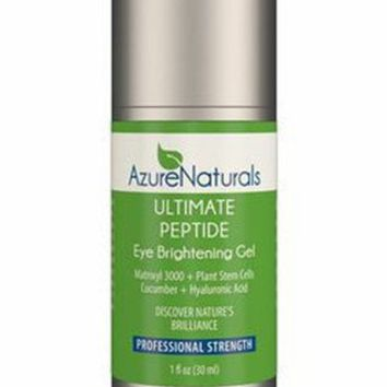 Peptide - Cucumber Infused Eye Brightening Gel