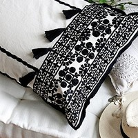FP One Womens Moroccan Embroidered Pillow Case