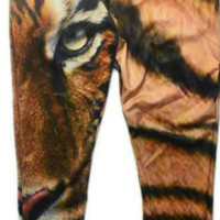 Eye of the Tiger jogger pants from Kno Idea Vintage & Custom