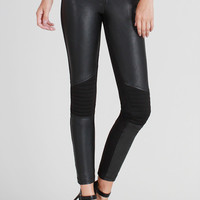 Rad Motorcycle Faux Leather Pants- FINAL SALE