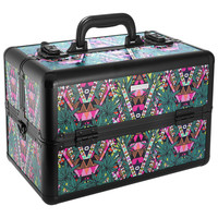 Sephora: SEPHORA COLLECTION : Mara Hoffman for Sephora Collection: Kaleidescape Traincase : makeup-bags-cosmetic-bags