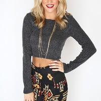 Catch the Heat Knit - Charcoal