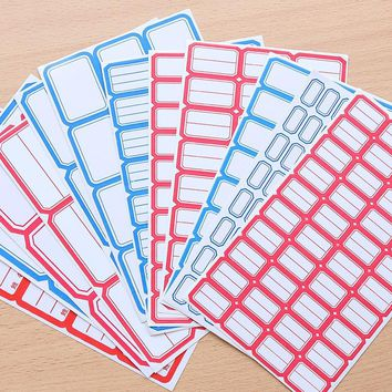 Non-drying Label Paper Self-adhesive Stickers Small Labels Commodity Price Tag Office School And Home Supplies.W-0355
