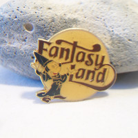Vintage Disney Mickey Mouse Lapel Pin Fantasia Sorcerers Apprentice Jewelry Fashion Accessories For Her