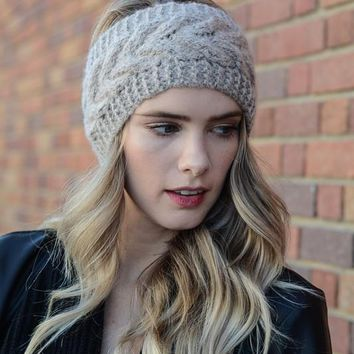 Twisted Knot Knit Crochet Headband | Colors