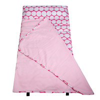 Big Dot Pink & White Easy Clean Nap Mat - 61278