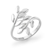 925 Sterling Silver Ivy Leaf Ring for Women (8)