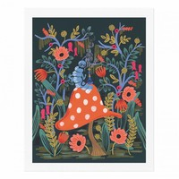 Absolem the Caterpillar Art Print by RIFLE PAPER Co. | Made in USA