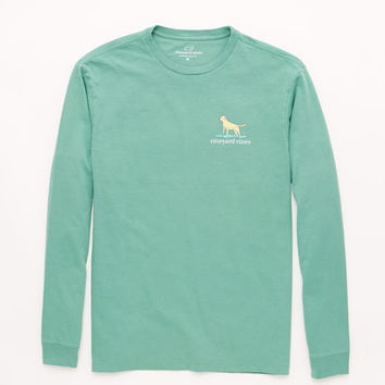 Long-Sleeve Labrador Graphic T-Shirt