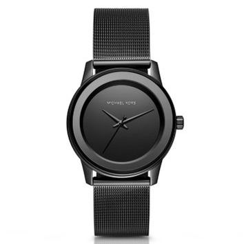 Kinley Black-Tone Watch | Michael Kors