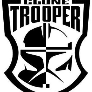 Clone Trooper Star Wars Vinyl Car Decal