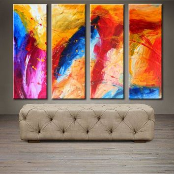 """'The perfect moment' -40"""" X 30"""" Original Abstract Art."""