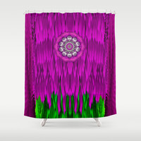 Fantasy Moon Shine Shower Curtain by Pepita Selles