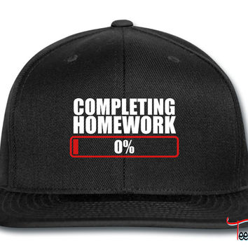 COMPLETING HOMEWORK ZERO 0 % Snapback
