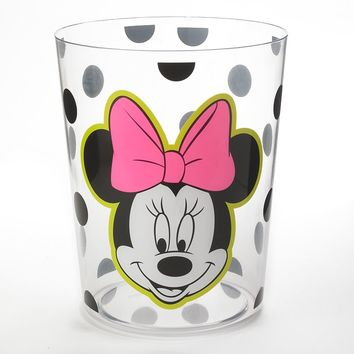 Disney Minnie Mouse Neon Wastebasket