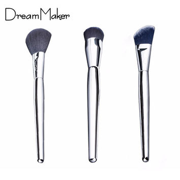 3 Pcs/Set makeup brushes DreamMaker 2016 cosmetics multifunction brushes foundation make up brochas maquillaje