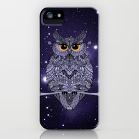 WHOO LOVES YOU? *** Night Owl ***  iPhone & iPod Case by Monika Strigel