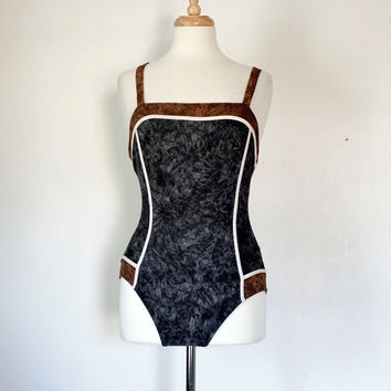 Vintage Maillot Bathing Suit by Gideon Oberjon