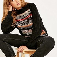 Ecote Movie Night Fair Isle Jumper - Urban Outfitters