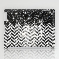 Chevron Universe iPad Case by Paula Belle Flores
