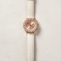 Pearled Perimeter Watch by Anthropologie Pearl One Size Jewelry
