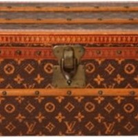 One Kings Lane - Frederick P. Victoria & Son - Miniature Louis Vuitton Trunk