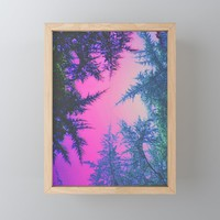 Crossover Framed Mini Art Print by duckyb