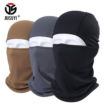 Breathable Balaclava Tactical Army Paintball Airsoft Full Face Mask Bicycle Winter Warmer Snowboard Military Helmet Liner Hats