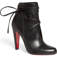 Christian Louboutin Ankle Tie Bootie (Women) | Nordstrom