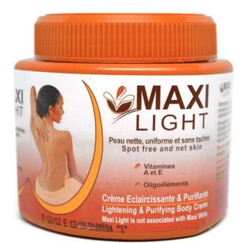MAXI LIGHT  SkIN LIGHTENING AND PURIFYING BODY CREAM (big jar)