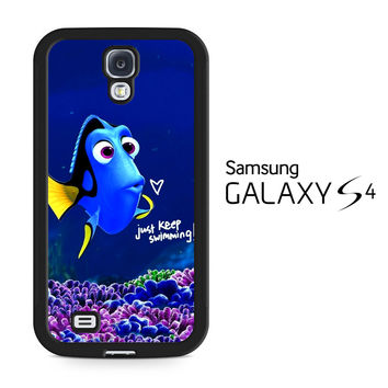Just Keep Swimming Dory Samsung Galaxy S4 Case